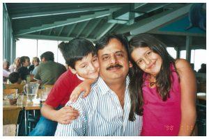 Sanjeev and kids
