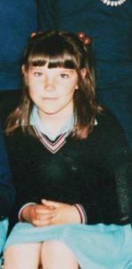 An 8yo Lindy - school photo