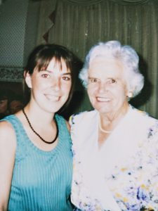 Lindy and grandma Cassie. They were very close.