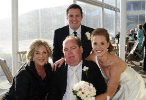 My family on my wedding day