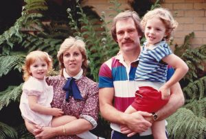 Lauren tried, but this is earliest pic of the family she could find, living in Montrose