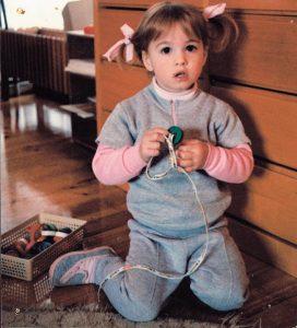 Lauren in kinder