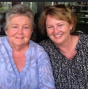 Lynda and Mum Helen in 2012.