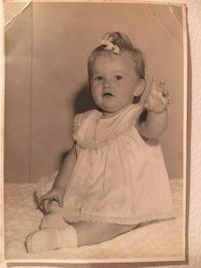 Lynda Ford - 11months. That bow!!