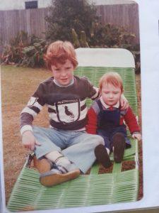 David and little brother