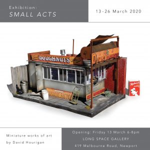 Small Acts - flyer invite