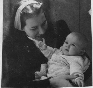 Shirley and mum