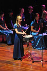 Highschool percussion