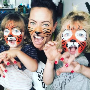 She-Tiger and cubs
