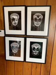 KISS versions of John, organised by his son Marcus as a birthday present when John was in his 80s.