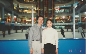 18yo - with my first ice skating coach, the one I followed to Malaysia